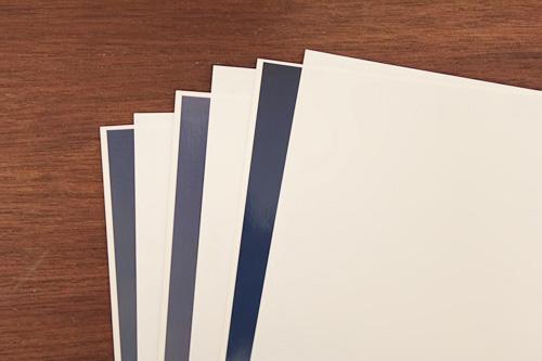 ムンクテルCXDフォトン 合紙 + 4フラップ・フォルダ