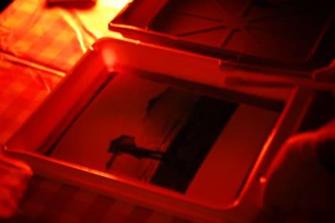 大阪 モノクロ暗室 写真教室