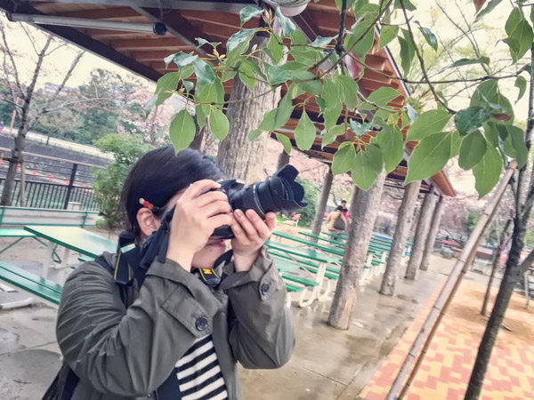 女性の撮影会「おさんぽソラリス〜カメラをもって京都市動物園へ行こう〜」