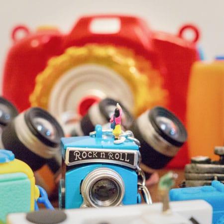 ギャラリー・ソラリス企画展 「カメラのおもちゃ展」